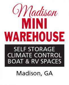 Storage Units in Madison, Ga